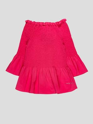 Блуза кольору фуксії | 4781207