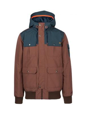 Куртка коричневая | 4630269
