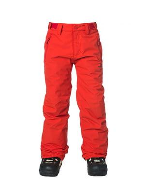 Штани червоні | 4630350