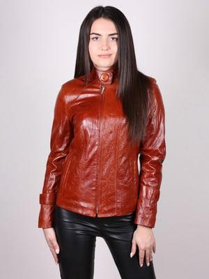 Куртка коньячного кольору | 4936881