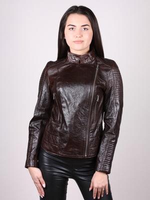 Куртка темно-коричнева | 4936882