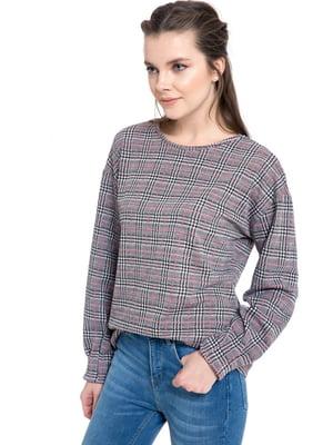 Блуза клетчатая | 4942981