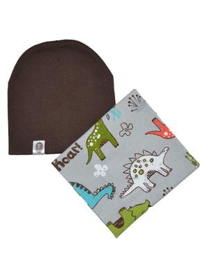 Комплект: шапка і снуд | 4944197