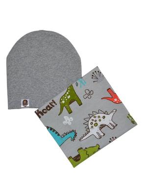 Комплект: шапка і снуд | 4944198