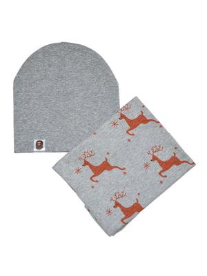 Комплект: шапка і снуд | 4944206