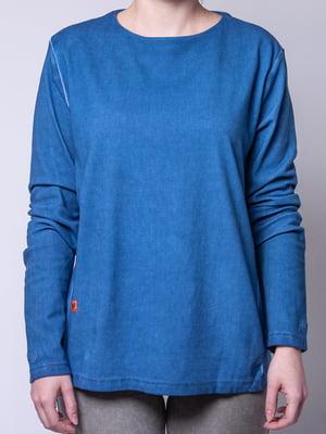 Лонгслів синій | 4947975