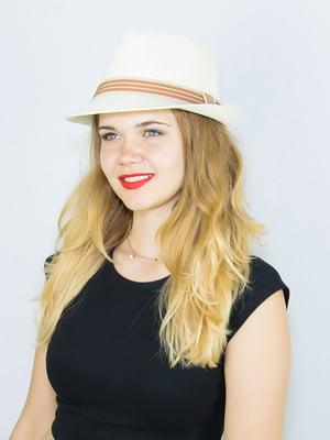 Шляпа кремового цвета   4265555