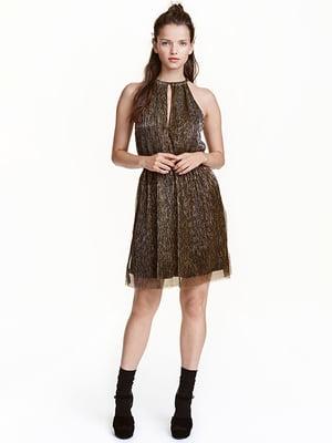 Платье золотистое | 4937974