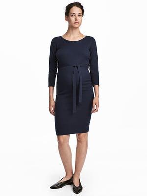 Платье темно-синее | 4938098