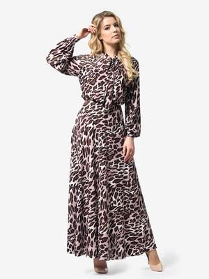 Сукня анімалістичного забарвлення   4948230
