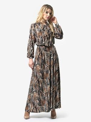 Платье анималистической расцветки | 4948232