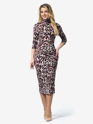 Платье анималистической расцветки | 4948234