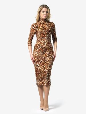 Платье анималистической расцветки | 4948236
