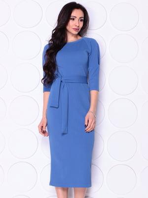 Платье голубое | 4948195