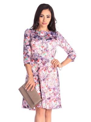 Платье в цветочный принт | 4948196