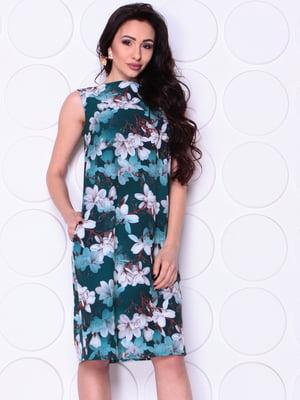 Сукня в квітковий принт | 4948203