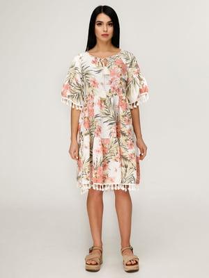 Платье в цветочный принт | 4949901