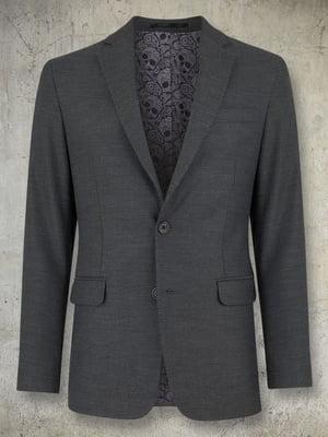Піджак темно-сірий | 4827276