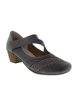 Туфлі темно-сині - Rieker - 4950003