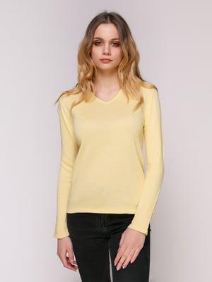 Пуловер желтый | 4906840