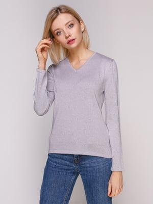 Пуловер світло-бузковий   4906839