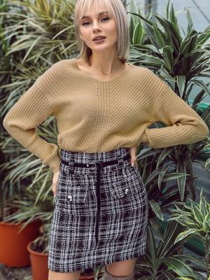 Пуловер бежевый | 4839659