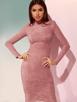 Платье цвета пудры | 4900927