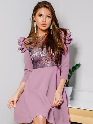 Платье сиреневое   4913361