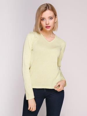 Пуловер салатовый | 4906843