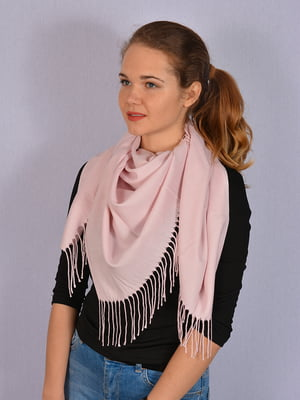 Платок нежно-розовый | 4950172