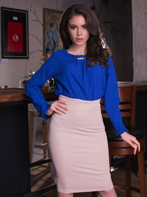 Блуза цвета электрик | 2634959