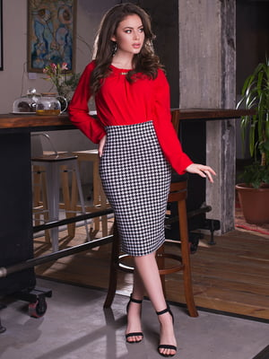 Блуза червона | 2634961