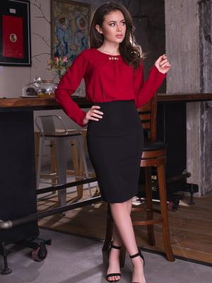 Блуза бордова | 2634970