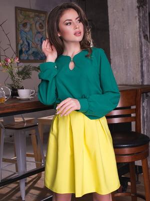 Блуза зелена | 3064314