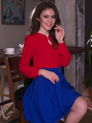 Блуза красная | 3064316