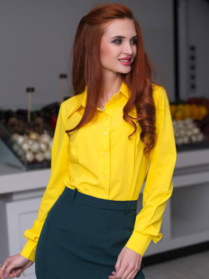 Рубашка желтая | 3064334