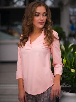 Блуза цвета пудры | 3171782