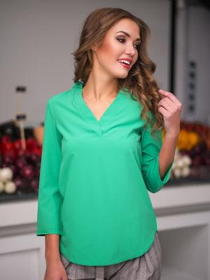 Блуза зелена | 3171783