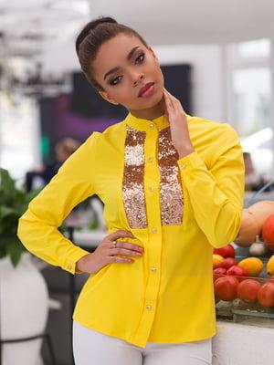 Рубашка желтая | 4613541
