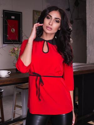Блуза червона | 4613548
