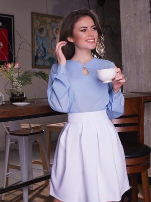 Блуза голубая | 4613749