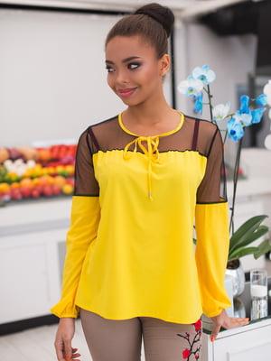 Блуза желтая | 4613789