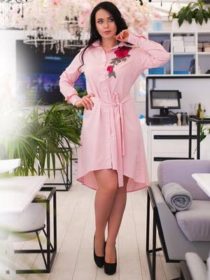 Сукня кольору пудри | 4613946