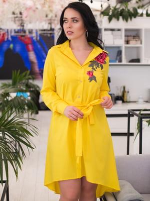 Платье желтое | 4613947