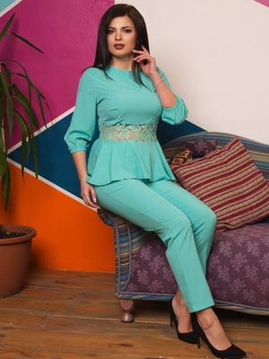 Костюм: блуза и брюки | 4614047