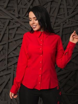 Рубашка красная | 4614059