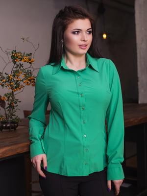 Рубашка цвета травы | 4614061