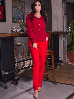 Рубашка красная | 4615582
