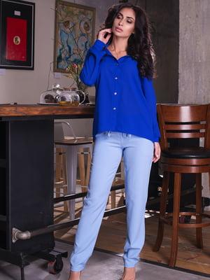 Рубашка цвета электрик | 4615583