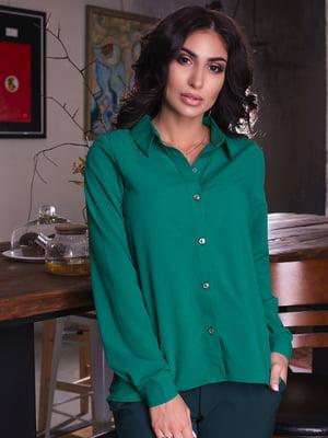 Рубашка зеленая | 4615584